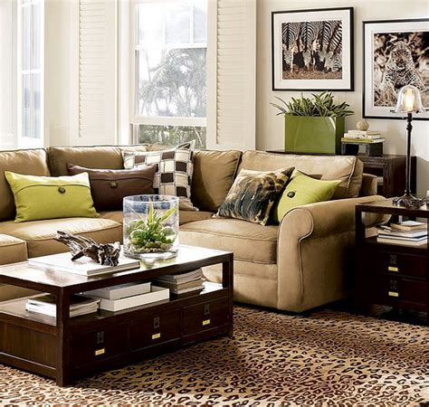 brown livingroom 28 green and brown decoration ideas