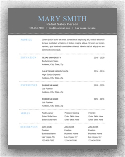 What Is Another Name For A Functional Resume by Functional Resume Template Word Resume Template Start