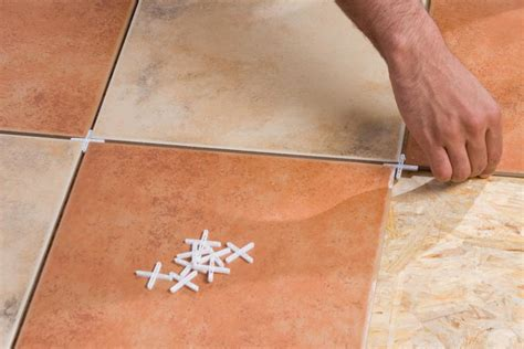 laying tile floor laying a ceramic tile floor