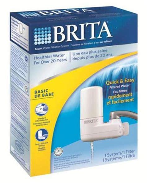 brita water filter faucet walmart brita white faucet filtration system walmart ca