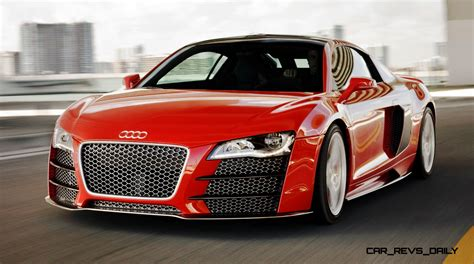Audi R8 Tdi by Concept Flashback 2009 Audi R8 Tdi V12 Shows Great