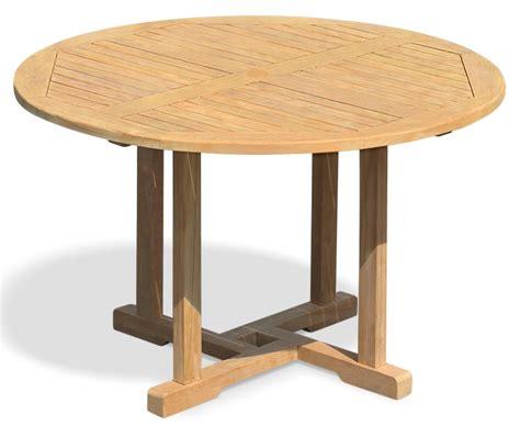 Runder Tisch Garten by Canfield Garden Teak Table 120cm