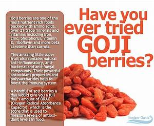 Goji Berry Benefits | WellBeing | Pinterest