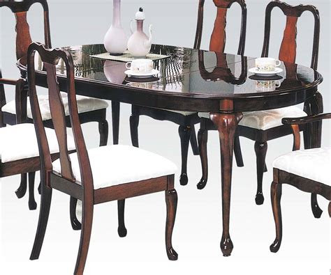 oval table with end extensions cherry wood oval extension leaf dining table 7252