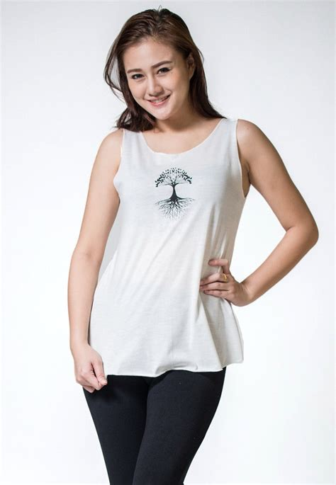 Loose Soft Vintage Style Women's Tank Tops Tree of Life ...