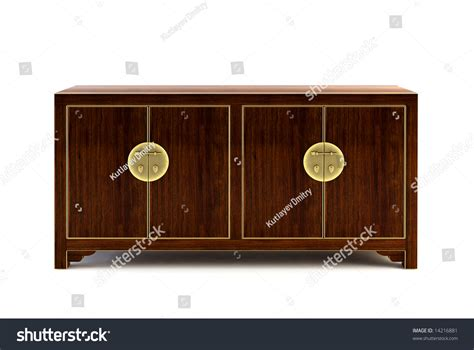 stock bureau bureau 3d rendering on white background stock photo