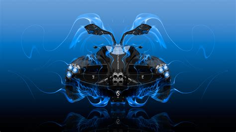 pagani huayra open doors backup super fly fire car