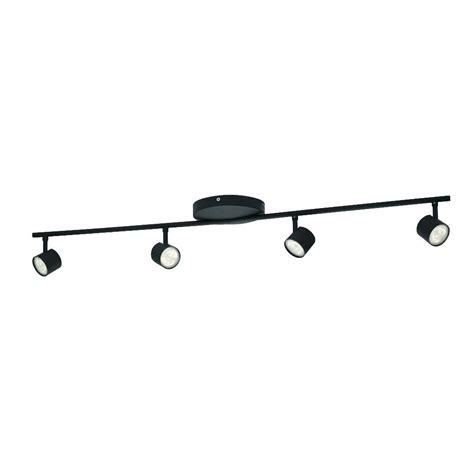 how to fix track lighting philips myliving track lighting black 4 light led long