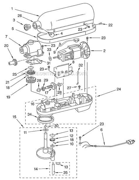 Kitchenaid Kbgx Parts List Diagram Series