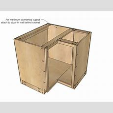 Kitchen Corner Cabinet Woodworking Plans  Woodshop Plans