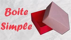 Comment Faire Une Boite En Origami : origami boite en papier simple et rapide youtube ~ Dallasstarsshop.com Idées de Décoration