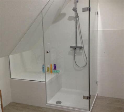 Dusche Mit Schräge by Duschkabine Badewanne Dachschr 228 Ge Eckventil Waschmaschine