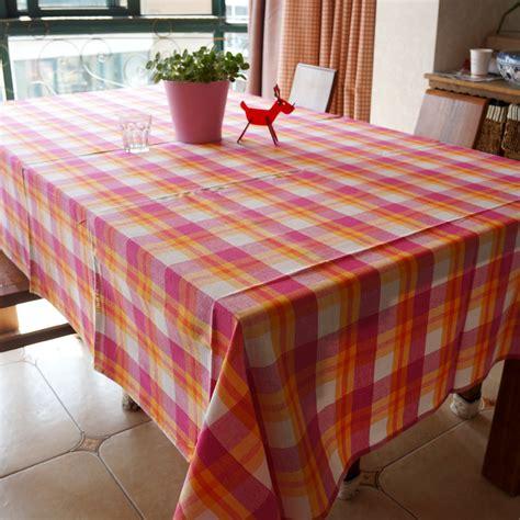 Gingham Tablecloths Tablecloth Fabric Table Cloth