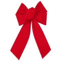 velvet bows outdoor bows outdoor bright velvet bow 6 inch