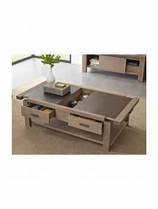 Table Basse Pin : table basse coffre en pin d 39 or gon et c ramique ~ Teatrodelosmanantiales.com Idées de Décoration