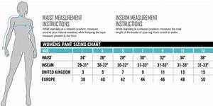 Jean Sizes In Inches Chart Womens Pant Size Pant So