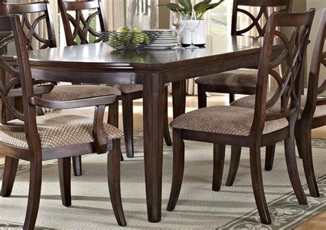 myco furniture carly classic dark brown finish carved wood