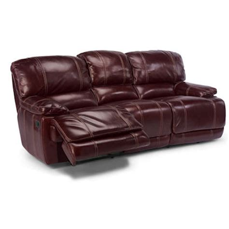 flexsteel power reclining sofa flexsteel 1250 62p belmont power reclining sofa discount