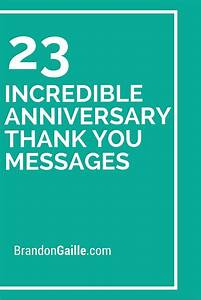 25 incredible anniversary thank you messages thank you With thank you message for wedding anniversary