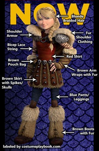 Costume Guide For Astrid The Second Movie How