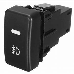 Push Button Fog Light Switch Button For Honda Civic Accord