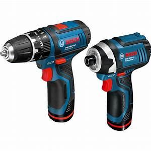 Bosch 10 8v : bosch gsb 10 8 2 li gdr 10 8 li 10 8v li ion cordless twin pack 2 x 1 3ah toolstation ~ Orissabook.com Haus und Dekorationen
