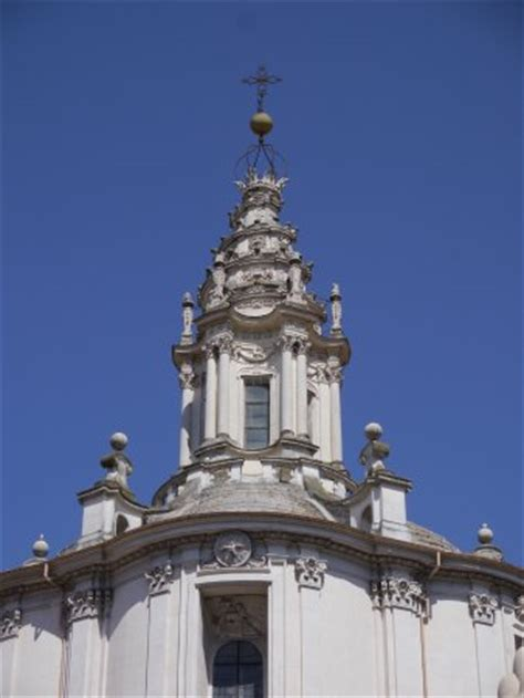 Cupola Sant Ivo Alla Sapienza by Vista Esterna Foto Di Chiesa Di Sant Ivo Alla Sapienza