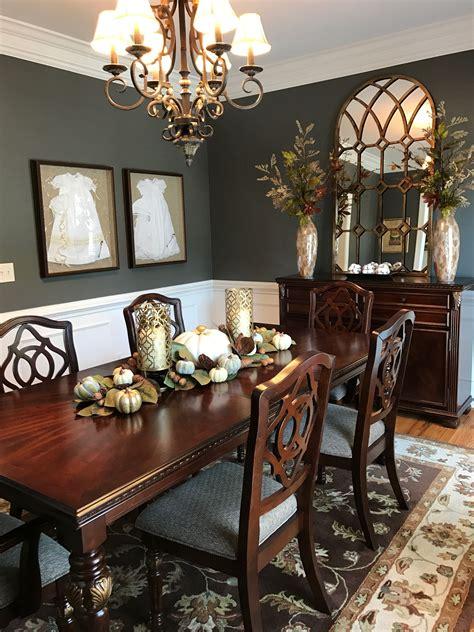 fall dining room setup  area dining room ideas
