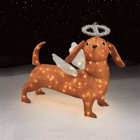 trim  home angel dachshund decoration