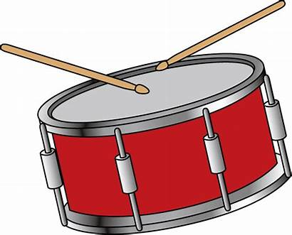 Drum Clipart Snare Instrument Musical Clip Instruments