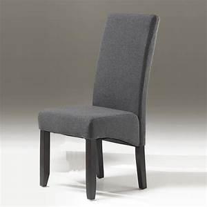 Chaise En Tissu Gris : chaises tissus ~ Teatrodelosmanantiales.com Idées de Décoration