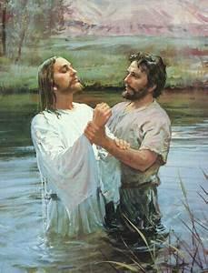 Lds Clipart Jesus Baptism