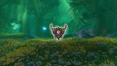 Druid Background Wow Wallpapers Crest Class Dreamway