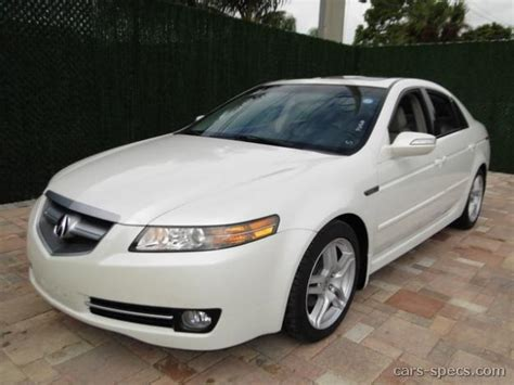 2007 acura tl type s specifications pictures prices