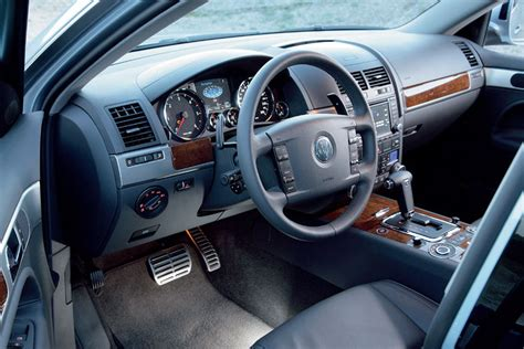 volkswagen touareg  tdi interior picture pic