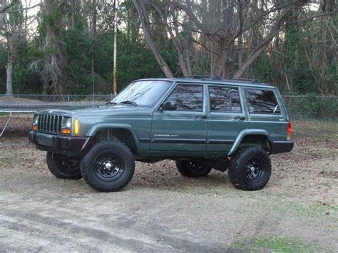 jeep cherokee green 2000 greengoblin10 2000 jeep cherokeese sport utility 4d specs