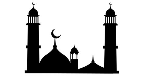 Free Islamic Picture by Masjid Muslim Clipart Free Image On Pixabay
