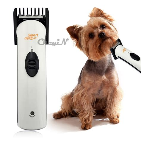 rechargeable cordless pet dog hair trimmer clipper razor