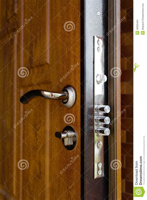 triple cylinders    high security lock stock photo image  triple design