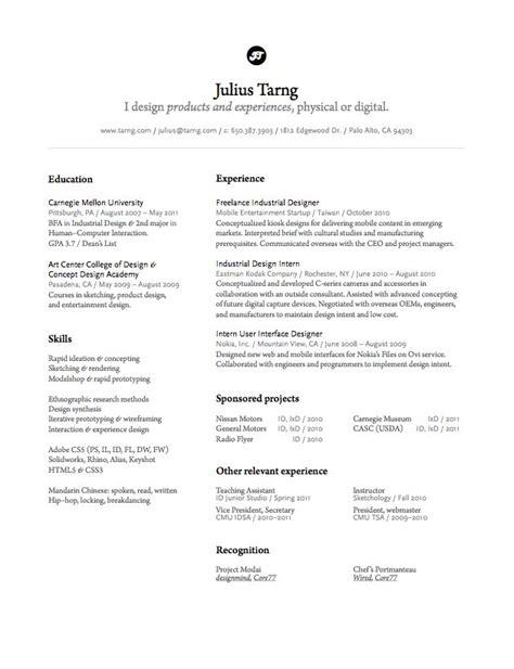 product design resumes product design resume resume ideas