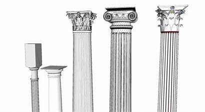 Types Column Pillar Architecture Classical Composite Temple