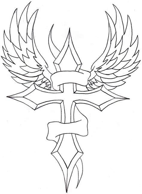 drawings  crosses clipartsco