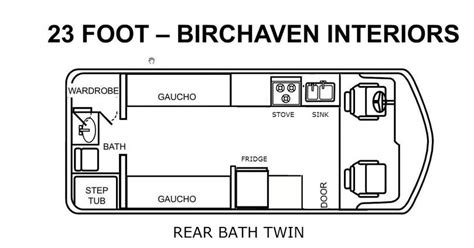 1976 gmc motorhome floor plan 1976 gmc motorhome floor plans