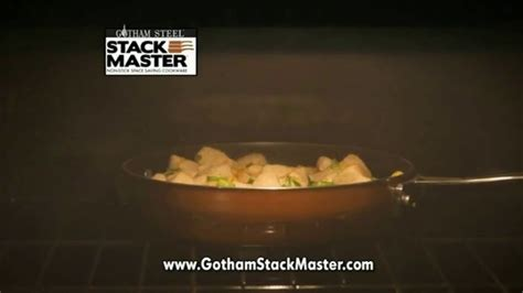 gotham steel stack master cookware tv commercial   space   piece collection