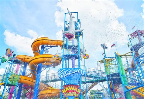 harga tiket masuk hawai waterpark malang oktober