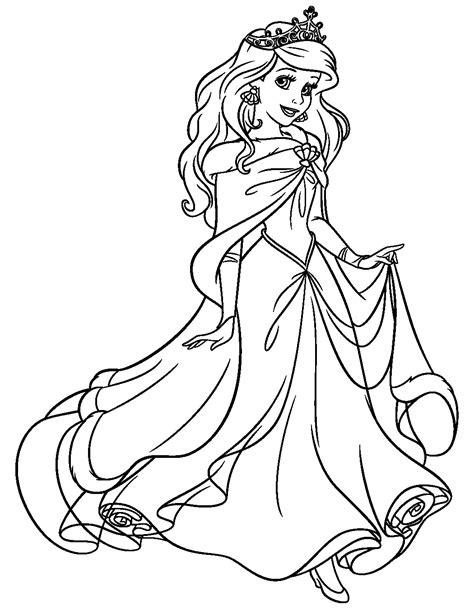 disegni da colorare principessa ariel ariel la sirenetta disegni da colorare principessa disney