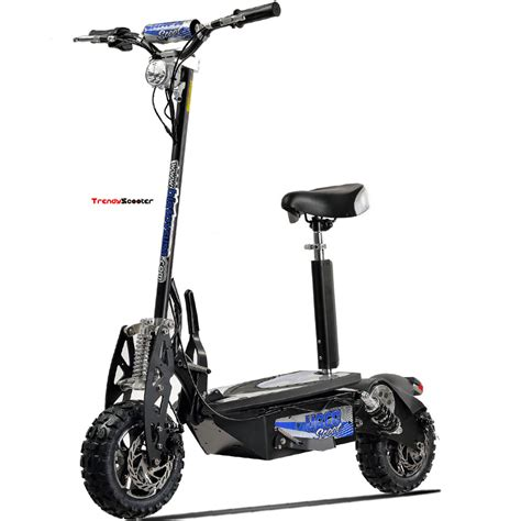 UberScoot 1600W 48V Adult Electric Scooter - Electric Scooters