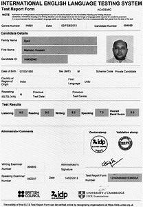 Share Certificate Template Canada Ielts Training Our Students Speak
