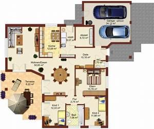 Grundrisse Für Bungalows 4 Zimmer : bungalow grundriss 4 zimmer mit garage alles ber wohndesign und m belideen ~ Sanjose-hotels-ca.com Haus und Dekorationen