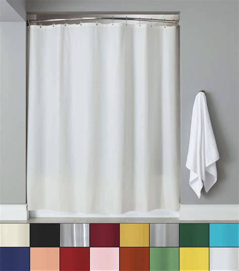 Shower Curtain Liners - anti mildew 72 x 72 vinyl shower curtain liner w metal